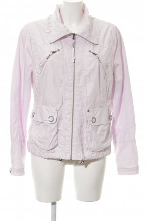 Bandolera Between-Seasons Jacket pink casual look