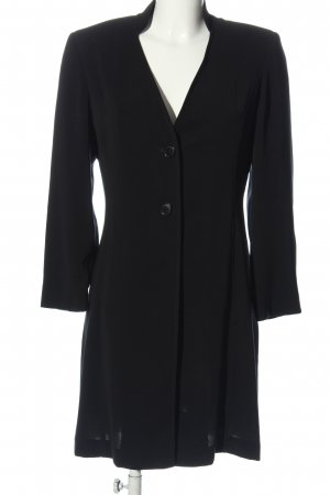Bandolera Between-Seasons-Coat black casual look