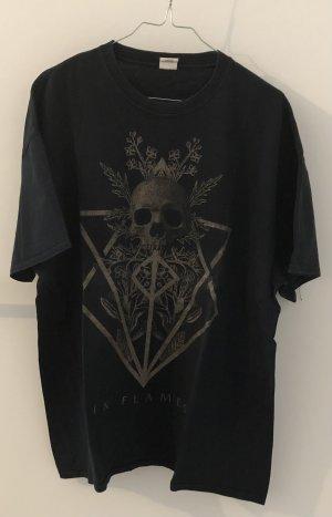 Bandshirt In Flames XL schwart gold