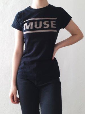 Bandshirt schwarz MUSE