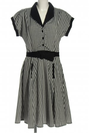 Banned Apparel Petticoat Dress black-white business style