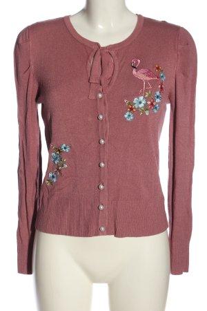 Banned Cardigan tricotés rose style décontracté