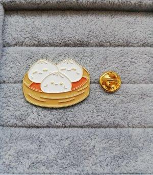 Baozi Dumpling Pin Anstecker Brosche Metall