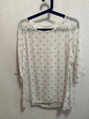 Barbara Becker Zijden blouse wit-zwart