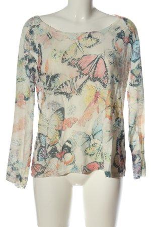 Barbara Becker Fine Knit Jumper allover print casual look