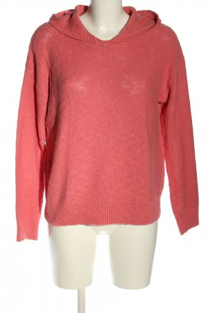 Barbara Becker Hooded Sweater pink themed print casual look