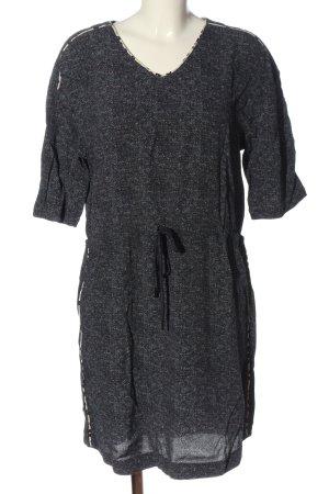 Barbara Becker Sukienka z krótkim rękawem czarny Melanżowy W stylu casual
