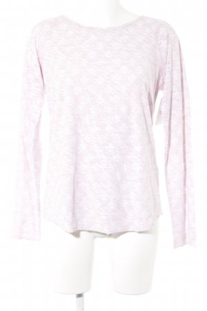 Barbara Becker Longsleeve pink-white abstract pattern casual look
