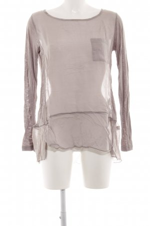 Barbara Becker Transparent Blouse brown simple style