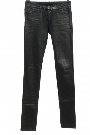Barbara Bui Jeans taille basse noir style décontracté