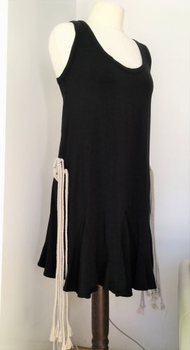 Barbara Bui Dress black-natural white cotton
