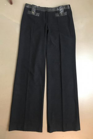 Barbara Bui Woolen Trousers black wool