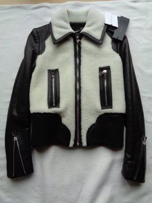 Barbara Bui Leather Jacket black leather