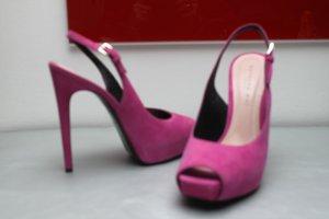 Barbara Bui Paris Plateau Sandaletten Stilettos  Pink 38