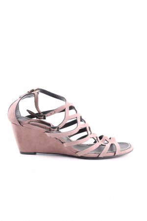 Barbara Bui Riemchenpumps pink Casual-Look