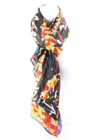 Barbara Bui Scarf abstract pattern casual look