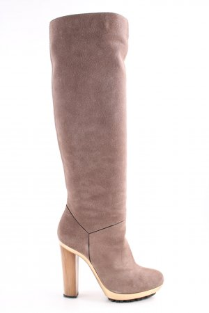 Barbara Bui Slip-on Booties brown casual look