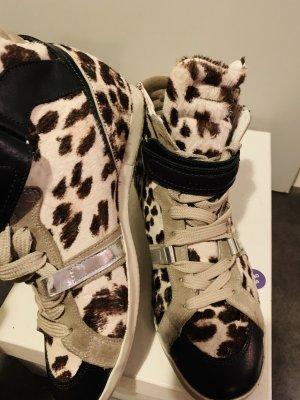 Barbara Bui Sneaker alta multicolore
