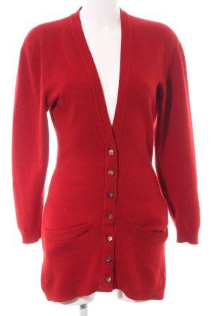 Barbara Bui Knitted Cardigan red elegant