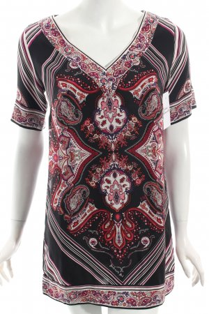 Barbara Bui Tunic Blouse mixed pattern