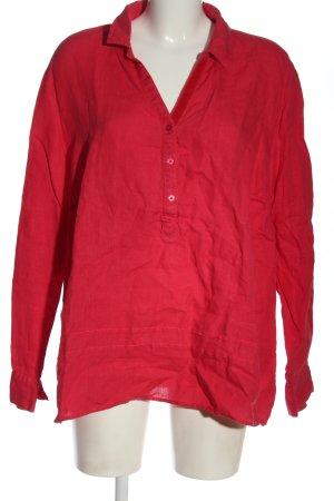BARBARA LEBEK Camicetta a maniche lunghe rosso stile casual
