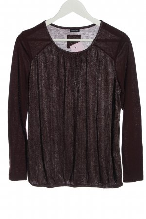 BARBARA LEBEK Koszulka z długim rękawem brązowy W stylu casual