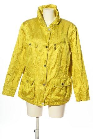 BARBARA LEBEK Giubbino giallo pallido stile casual