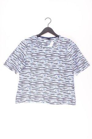 BARBARA LEBEK Shirt Größe 40 blau aus Viskose