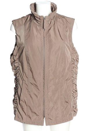 BARBARA LEBEK Quilted Gilet brown casual look