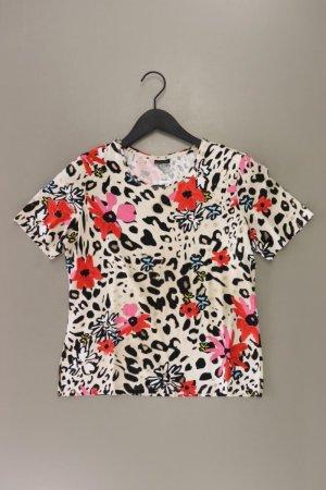 BARBARA LEBEK T-Shirt Größe 38 mit Tierdruck Kurzarm mehrfarbig