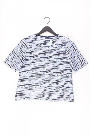 BARBARA LEBEK T-Shirt Größe 40 Kurzarm blau aus Viskose