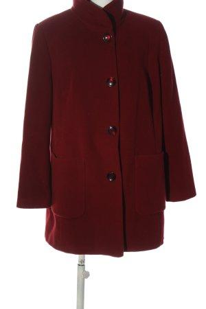 BARBARA LEBEK Wool Coat red casual look