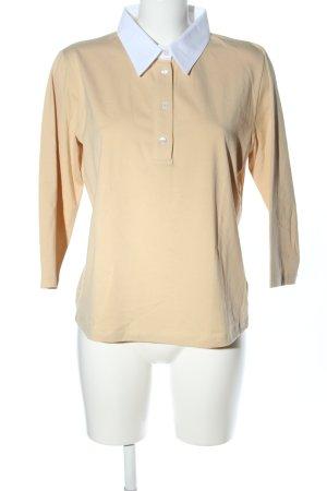 Barbara Lohmann Langarm-Bluse creme-weiß Casual-Look