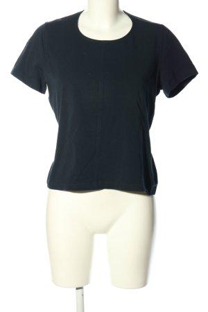 Barbara Lohmann T-shirt blauw gestippeld casual uitstraling
