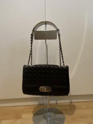 Barbara Milano Handtasche Leder schwarz