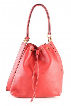 barbara milano Henkeltasche rot Business-Look