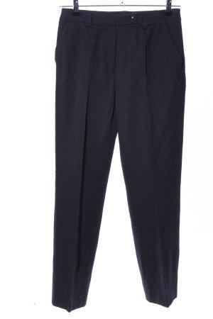 Barbara Schwarzer Pantalon de costume noir moucheté style d'affaires