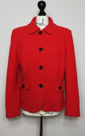 Barbara Schwarzer Blazer Wolle rot Gr.XL- neuwertig