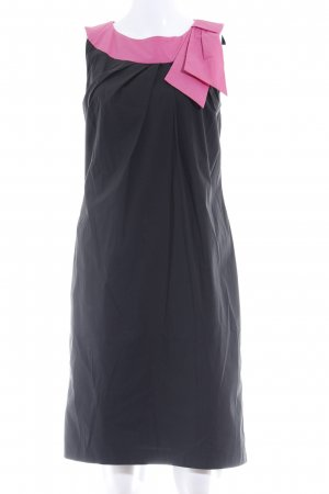 Barbara Schwarzer Pencil Dress black-pink elegant