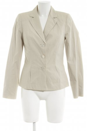 Barbara Schwarzer Jersey Blazer natural white business style