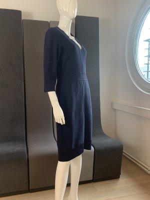 Barbara Schwarzer Robe à manches courtes bleu foncé