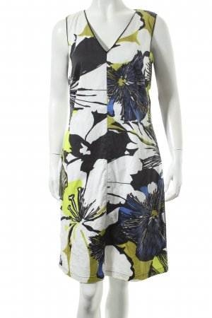 Barbara Schwarzer Dress flower pattern business style