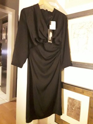 Barbara Schwarzer Robe à manches longues noir