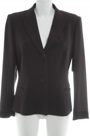 Barbara Schwarzer Short Blazer brown red business style