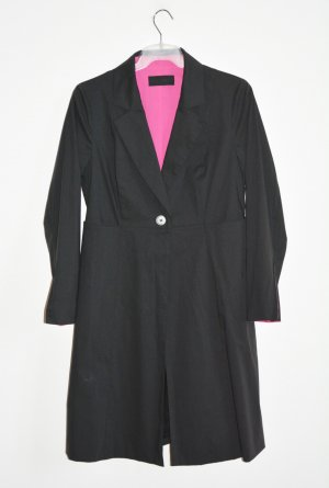 Barbara Schwarzer Frock Coat black-pink mixture fibre
