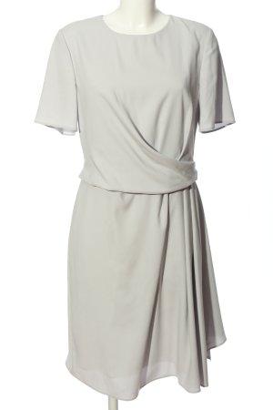 Barbara Schwarzer Sukienka z halką jasnoszary W stylu biznesowym