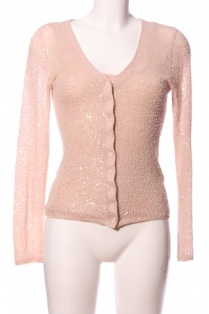Barbara Schwarzer Ensemble en tricot rose chair style décontracté