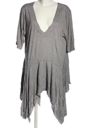 Barbara Speer Robe bas asymétrique gris clair style décontracté