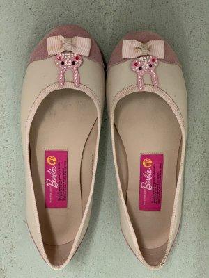 Ballerina a punta rosa pallido-rosa chiaro