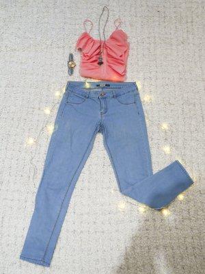 Barbie Blue | Hellblaue 7/8-Jeans von Pull&Bear